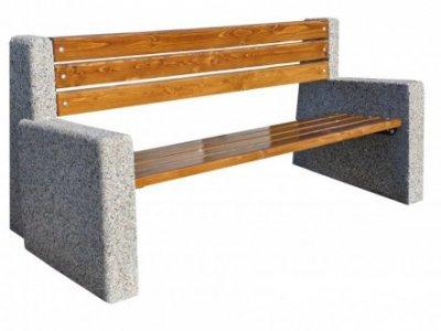 Ławki betonowe Berta