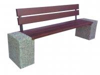 Producent ławek betonowych z oparciem