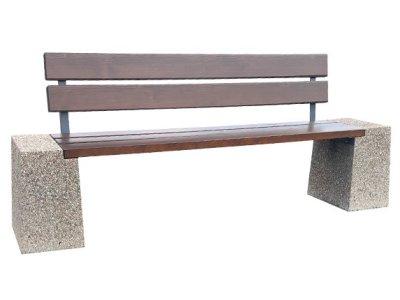 Ławka betonowa - Producent
