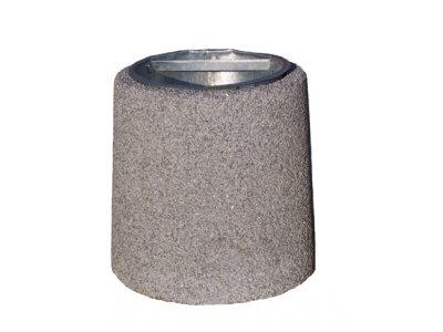 Najmniejszy kosz betonowy - 26 litrów