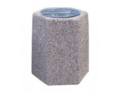 Aleksander betonowy - 70 litrów