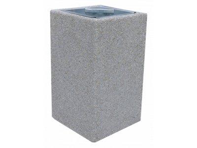 Kwadratowy kosz - 70 litrów