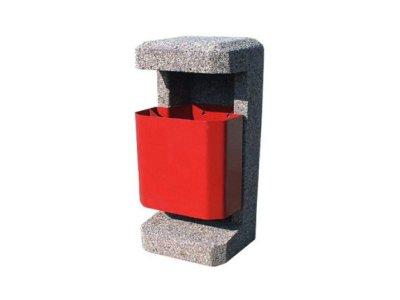Pojemnik betonowy na śmieci