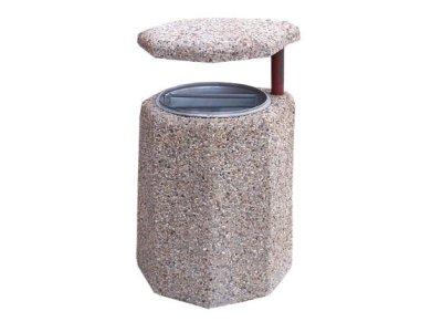 Kosze betonowe z daszkiem