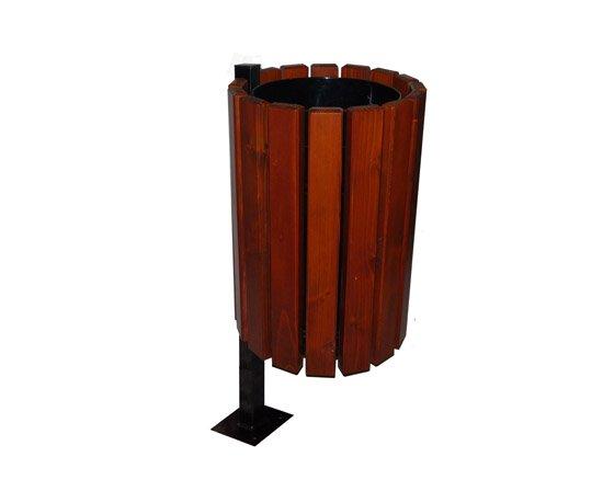 Zaktualizowano Kosz parkowy Orion   Kosze drewniane   Producent Parkaria BI01