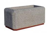 Miejskie donice betonowe