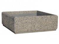 Niska donica betonowa