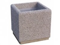 Donice z betonu 50x50