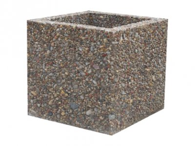 Donica betonowa Rosa 40x40