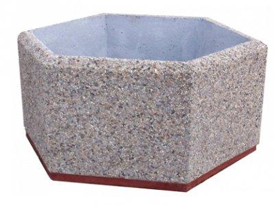 Uliczna donica betonowa
