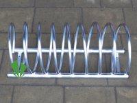 Stojak na rowery sprężynowy