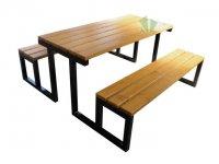 Stół piknikowy Gloria bez oparcia